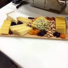 european cheese tray at wegmans te mild gruyere blue stilton kerrygold dubliner craisins dried apricots marconi
