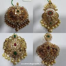 gold antique stone pendants