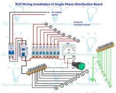 wiring of distribution board wiring diagram with dp mcb and sp Mcb Wiring Diagram Pdf rcd wiring installation in single phase distribution board mcb wiring diagram pdf