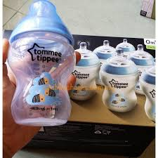 Tommee Tippee Pink Decorated Bottles Tippee Decorated Bottles Pink PearBlue Bees 100 x 100oz10060ml 37