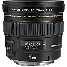 #1 <b>Canon EF 20mm f/2.8</b> USM Wide Angle Lens for Canon SLR ...
