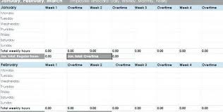 Time Log Sheet Weekly Management Template Project Tracker Excel