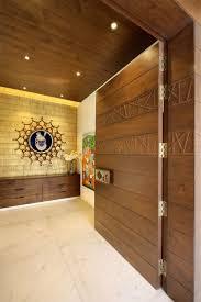 Main Entrance Foyer Designs Vinay Shah Residence Dipen Gada Associates Foyer