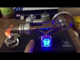 StarPower <b>Stirling Engine</b> Model <b>QX</b>-<b>FD</b>-<b>05</b>-<b>M</b> - YouTube