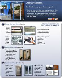 Door Repairs by Ace Door Company. Residential and Commercial ...