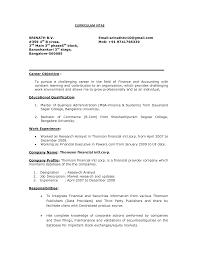 Cv Objective Statement For Freshers Filename Handtohand Investment Ltd