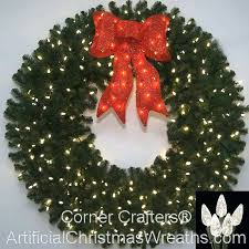 Outdoor Lighted Wreath Awesome Led Wreath Outdoor Lighted Outdoor Wreaths Large Skiglovesguide