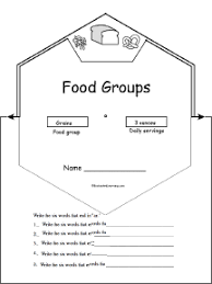 Small Picture Food Groups and Food Pyramid Food Theme Page at EnchantedLearningcom