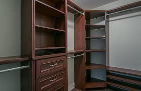 tremendous corner closet shelf home decor lovely dark brown wooden with clothes rack drawer ikea diy depot menard organizer walk in closetmaid design