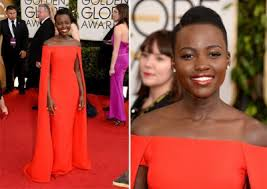 even though lupita nyong o s dress was red