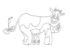 25 Bladeren Grappige Koeien Tekeningen Kleurplaat Mandala In