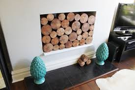 decorative fire logs ireland