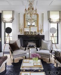 waffle ceiling traditional fireplace mantle mantel gold gilded gilt mirror ideas side windows georgian home black
