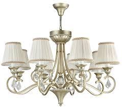 casa padrino baroque chandelier 8 flames gold silver Ø 80 x h 50