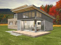 Shed Roof Home Plans Modern Shed Roof Cabin Plans Escortsea