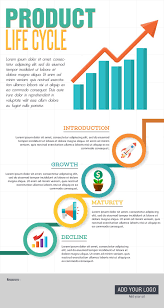 Product Life Cycle Free Template Infographic Template