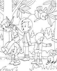 Coloriage Animaux Foret Les Beaux Dessins De Meilleurs Dessins