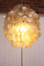 flower chandelier faux chandelier west elm capiz pendant hanging seashell chandelier capiz shell drum chandelier