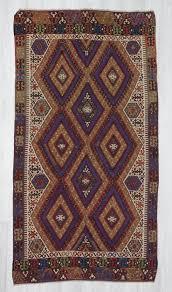 handwoven vintage decorative turkish kilim area rug