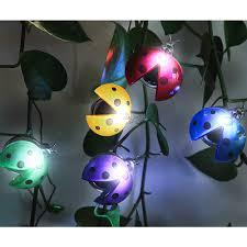 Ladybug Garden Lights Haveone Solar Ladybug Lights Set Of 5 Garden Backyard Lights Lawn Stakes Decor Light For Plant Kids Gift