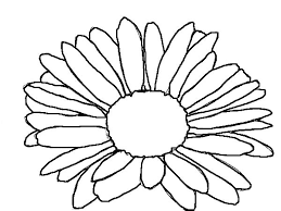 Small Picture Kids Drawing of Daisy Flower Coloring Page Download Print