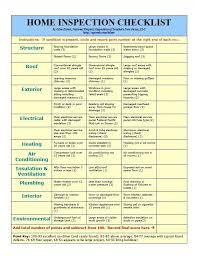 Home Inspector Checklist Under Fontanacountryinn Com