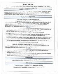 Monster Sample Resume Classy Childcare Resume 48Z Child Care Resume Sample Monster DUTV