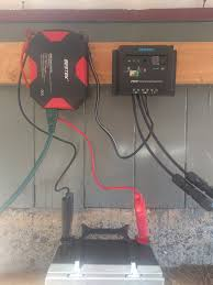 power farmbot with solar Wiring Up A Solar Panel in general, this will simply entail connecting the output of the solar panel to the input of the charge controller remember negative ground to wiring up a solar panel to house