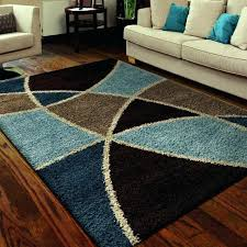 geometric round area rugs geometric area rugs contemporary fabulous round area rugs rug cleaners in blue