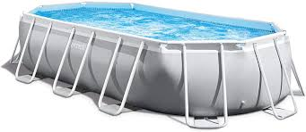 Intex Oval Prism Frame Pool Set | 16ft 6