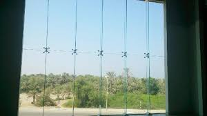 frameless spider glass curtain walls