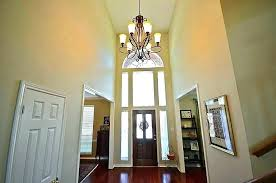 how high do you hang a cha 2 story foyer lighting ideas unique chandeliers for foyers lantern twelve light two tier diamond of