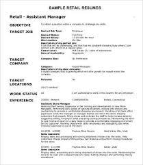 Retail Resume Classy 60 Sample Retail Resume Templates PDF DOC Free Premium Templates