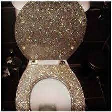 gold foil toilet seat. glitter toilet \u003c3 the throne gold foil seat e