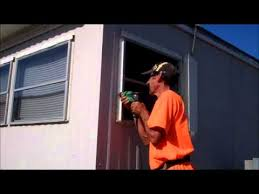 mobile home exterior window trim. window replacement in a mobile home leaks how to repair exterior trim