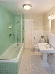 toilet raised above new tile floor half height tiling next half tile wall bathroom height