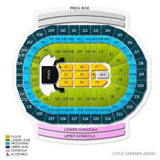 69 Rigorous Little Caesars Arena Layout