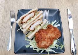 Fill a medium pot 3/4 of the way up with salted water; Japanese Chicken Katsu Sandwich Recipe By Jennifer Su Cookpad