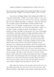 research essay american beauty and freud s three essays