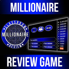 Millionaire Gameshow Classroom Review Game Customizable Powerpoint Hd