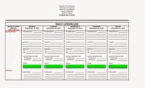 Daily Lesson Plan Template High School 13 Amazing Learning Log ...