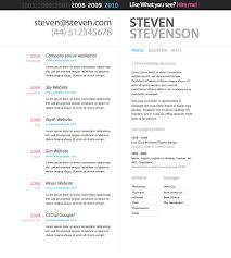 Template Resume Template In Microsoft Word The 7 Best Templates