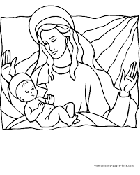 Religious Christmas Coloring Pages Getcoloringpagescom