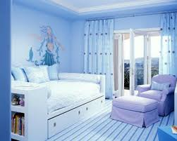 beauty design of the bedroom paint color ideas with blue wall ideas added with white wooden