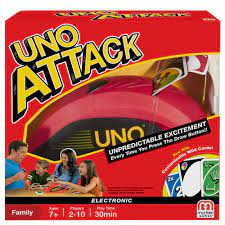 uno rapid fire card game for 2