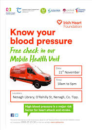 Free Blood Pressure Check Nenagh Library Tipperary