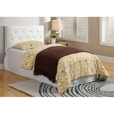 Modern Bedroom Headboards Elegant Tufted Single Bed Headboards Wood With Leather Upholstery