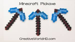 How to Make Minecraft Pickaxe 3D Printing Pen Scribbler DIY.