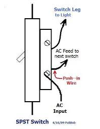 replacing light switch in series wired home help! electrical Wire Light Switch In Series replacing light switch in series wired home help! sp switch jpg how to wire light switch in series