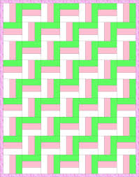 Best 25+ Rail fence quilt ideas on Pinterest | Baby quilt patterns ... & Zig-Zag Rail Fence Quilt Pattern-The classic Rail Fence pattern is made from Adamdwight.com
